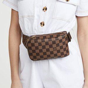 Auth Louis Vuitton Geronimos Bum/Crossbody Bag